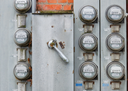 Old Electric Meters